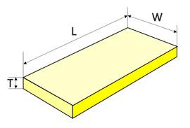 Прямоугольная пластина
