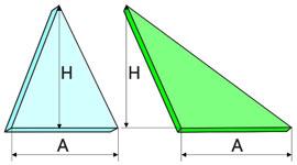 Треугольная пластина
